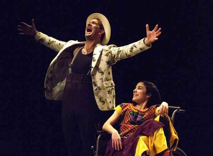 Piece Frida Kahlo. Theatre Galpon. Geneve 2018.