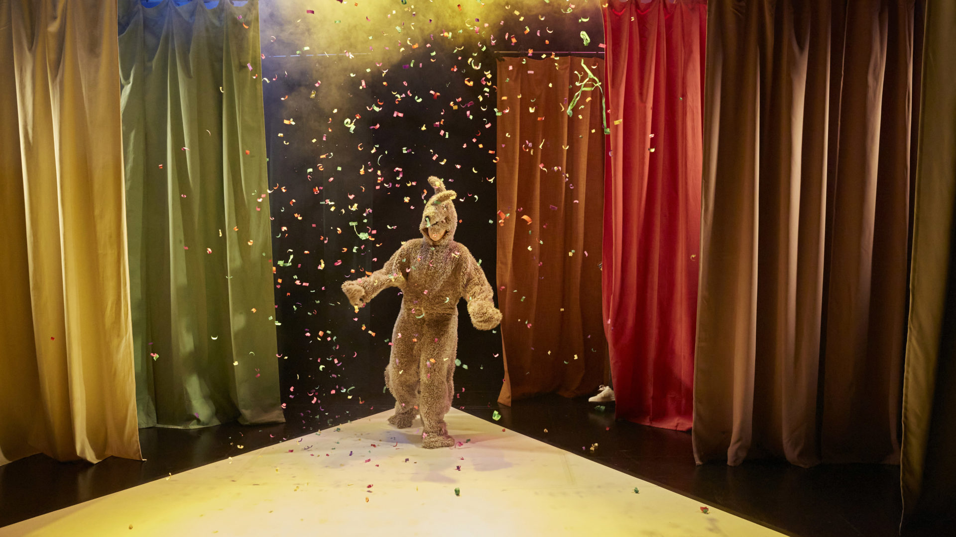 lapin confettis